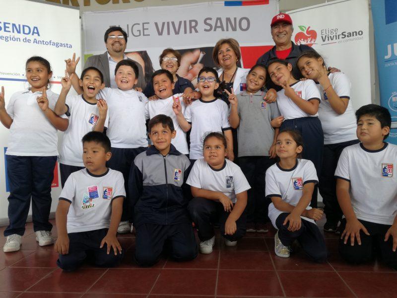 SENDA Antofagasta lanza programa preventivo en establecimientos educacionales de la región