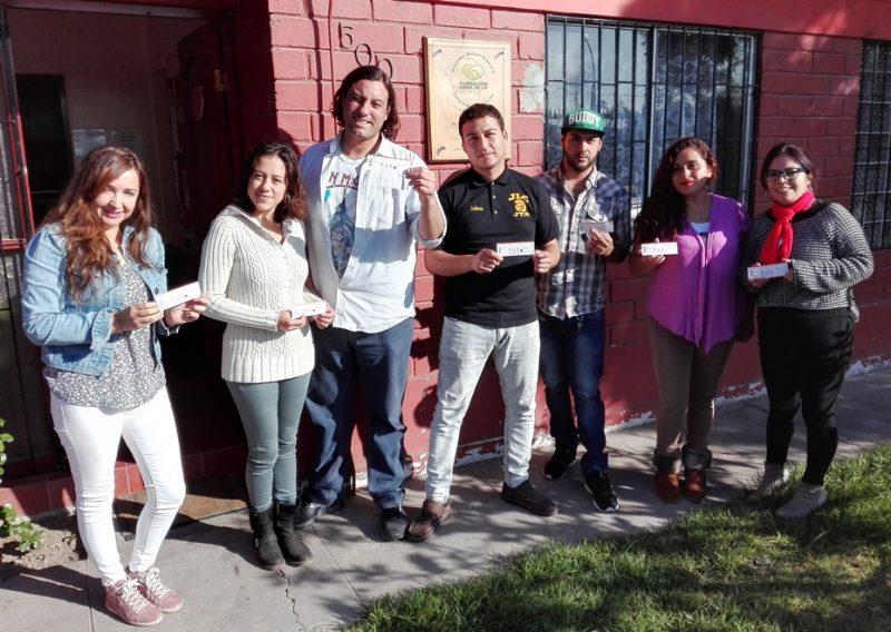Usuarios de centro de tratamiento asisten a partidos de Copa América Femenina