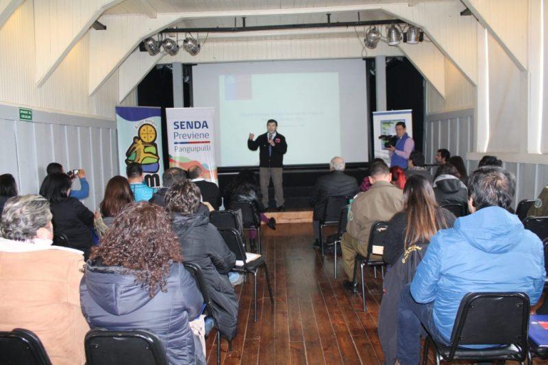 SENDA Previene Panguipulli reactivó Mesa Intersectorial de Drogas en la comuna