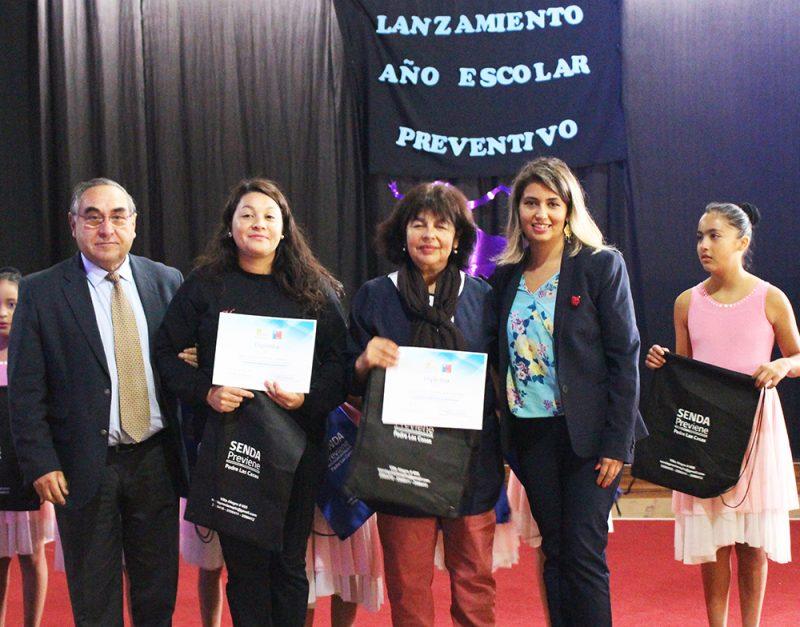 SENDA inaugura año escolar preventivo en Padre Las Casas
