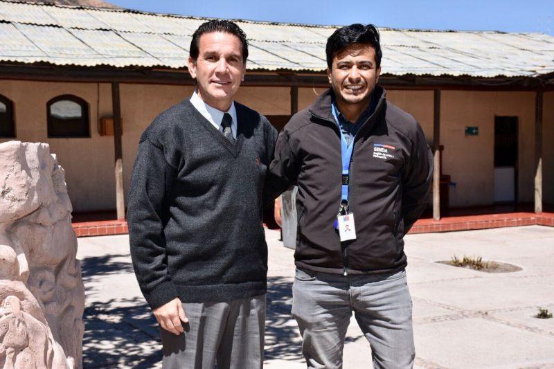 Director Regional (s) visita comuna de Parinacota