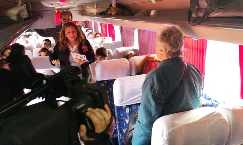 Autoridades regionales encabezan fiscalización de buses interurbanos por fin de semana largo en Valparaíso