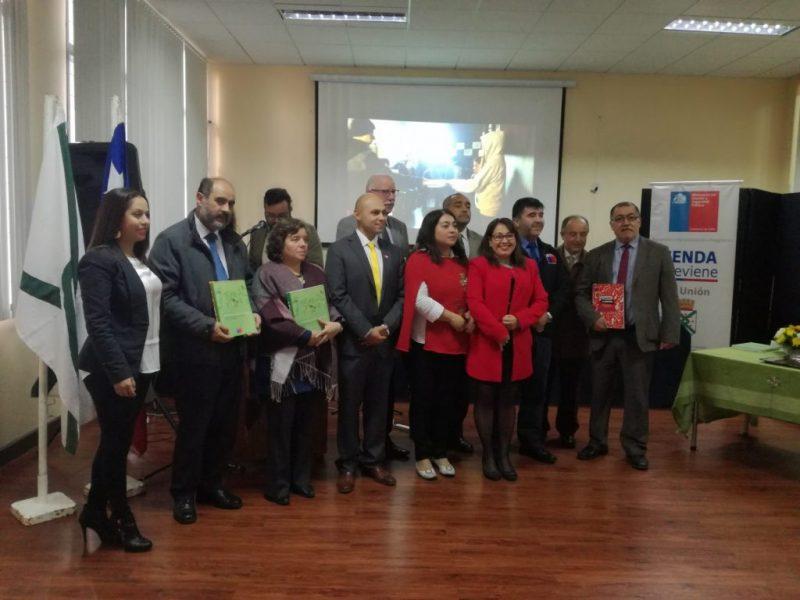 Senda realizó lanzamiento de Inicio de Año Preventivo en el Liceo Rector Abdón Andrade Coloma de La Unión