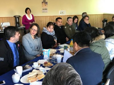 SENDA Previene Río Bueno realizó la 1° Mesa Intersectorial de Drogas 2018