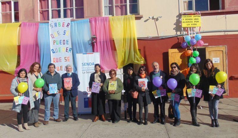 Colegios de La Serena se comprometen con la prevención