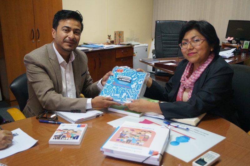 Director Regional de SENDA se reúne con Seremi de Educación