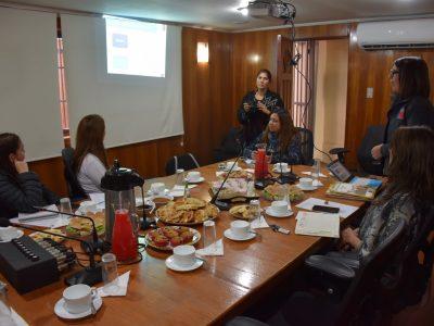 SENDA Previene Sagrada Familia realizó capacitación para directoras de jardines infantiles JUNJI