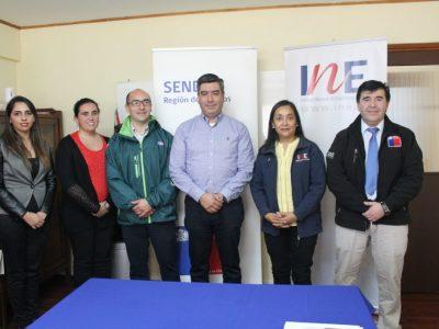 SAG, INE y Cesfam de Panguipulli firmaron acuerdo con SENDA Los Ríos para implementar programa preventivo para sus trabajadores