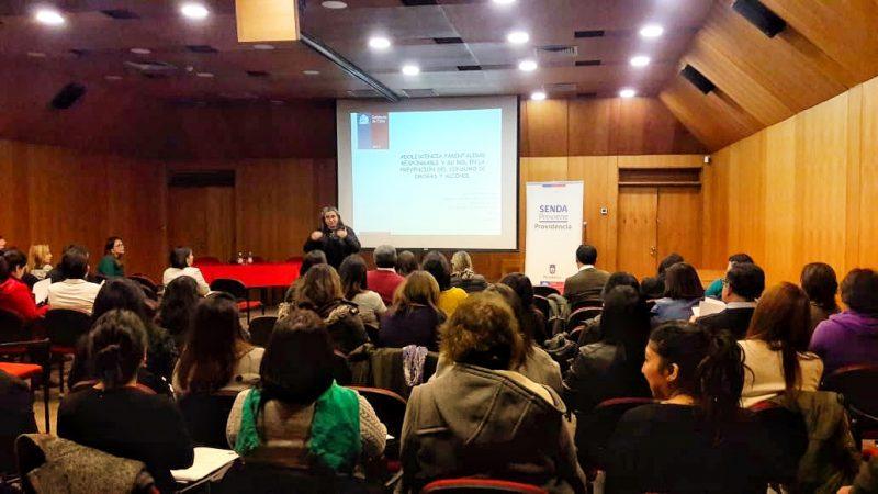 SENDA Previene Providencia organizó encuentro comunal para la prevención