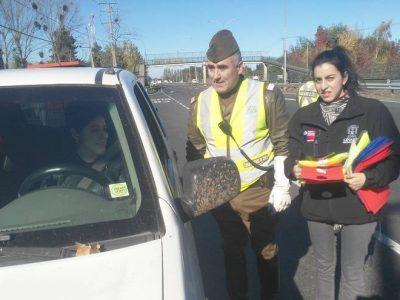 Linares: Carabineros y SENDA llamaron a un fin de semana largo sin accidentes de tránsito