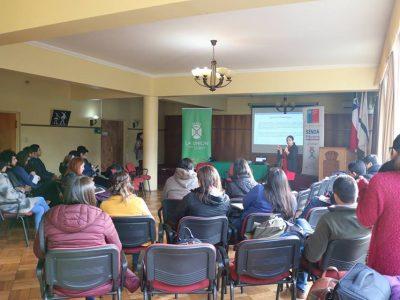 SENDA Previene La Unión realizó conversatorio sobre consumo de pasta base