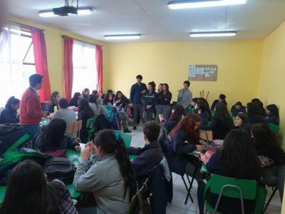 Liceo Politécnico Werner Grob Stolzenbach de La Unión implementa material Continuo Preventivo del SENDA