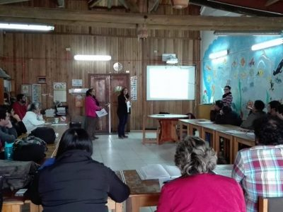 Programa Actuar A Tiempo de SENDA Previene Paillaco capacita en Detección Temprana a profesionales del Liceo Agrícola Radio 24 El Llolly