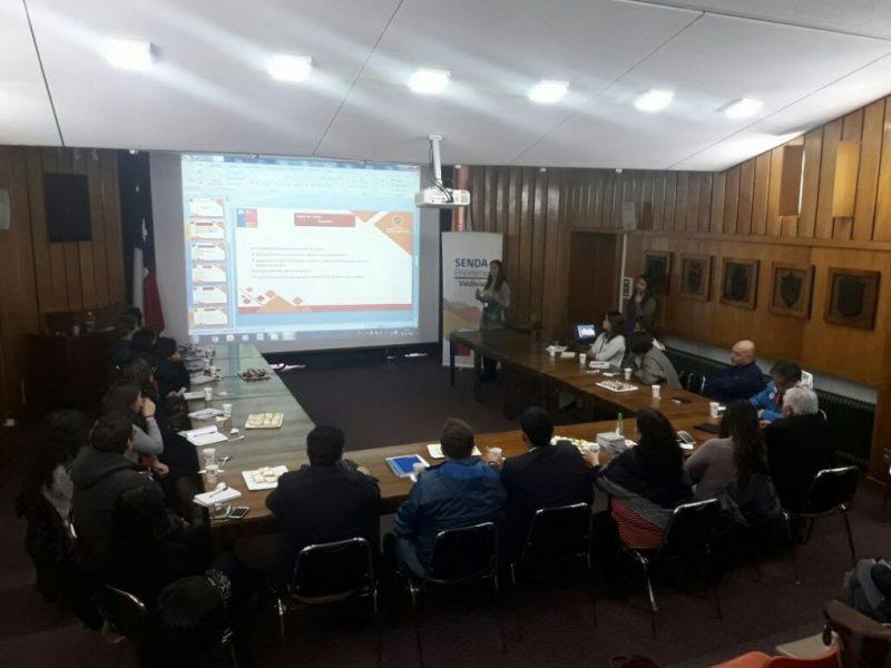 SENDA Previene Valdivia efectuó 1ª Mesa Intersectorial de Alcohol y otras Drogas