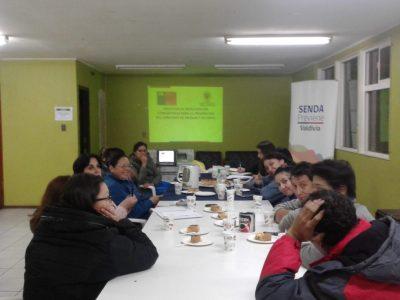 SENDA Previene Valdivia inicia trabajo comunitario en sector Guacamayo
