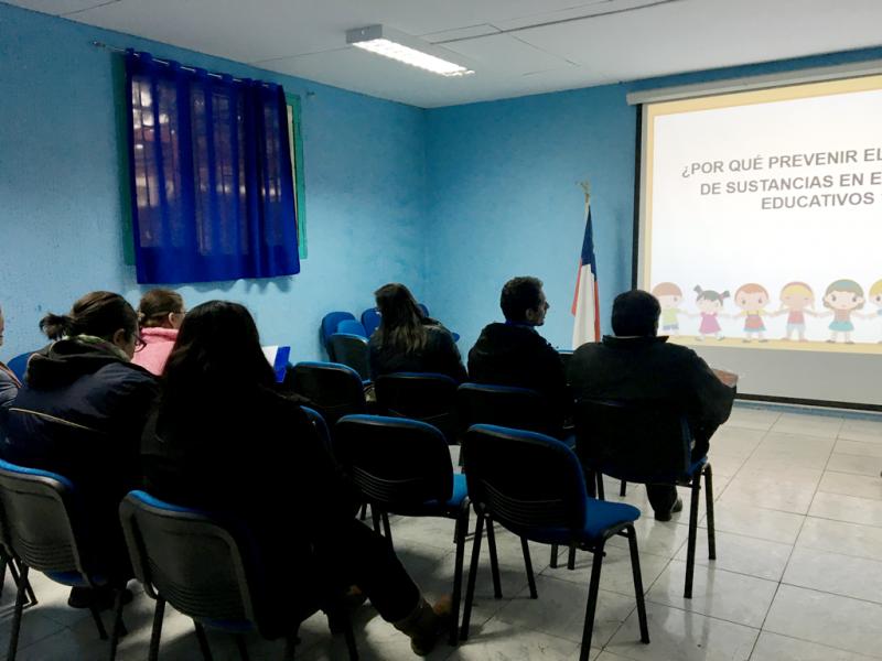 SENDA Previene de Til Til realiza diversas actividades preventivas en escuelas