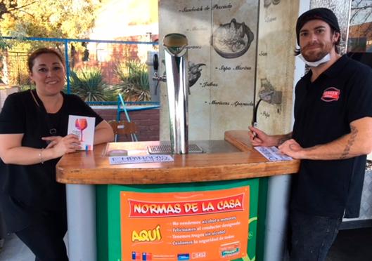 En Lo Prado llaman a prevenir el consumo de alcohol en la 15° Feria Criolla