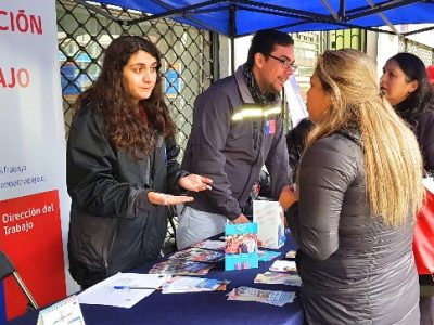4ª Feria de Integración Social de SENDA Biobío reúne a públicos, privados y emprendedores para exponer el trabajo a la comunidad