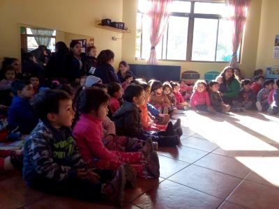 Con adaptación de cuento infantil, Macul se suma a actividades del Mes de la Prevención