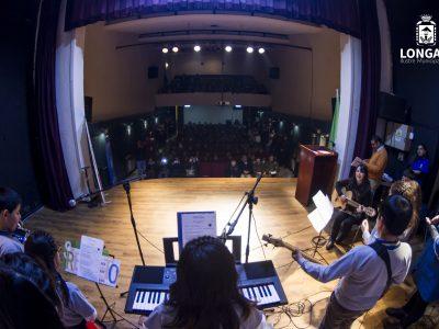 Primer encuentro artístico de Longaví se realizó para conmemorar el día de la prevención