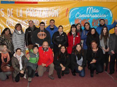Adultos de Magallanes reflexionaron sobre el rol de la comunidad en la prevención del consumo de drogas