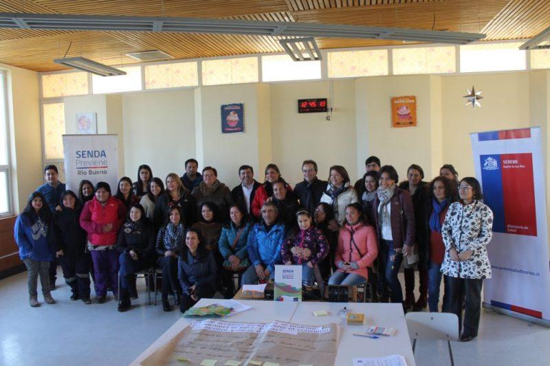 Positiva Jornada de Reflexión se desarrolló en ocho comunas de Los Ríos en torno al consumo de sustancias en estudiantes