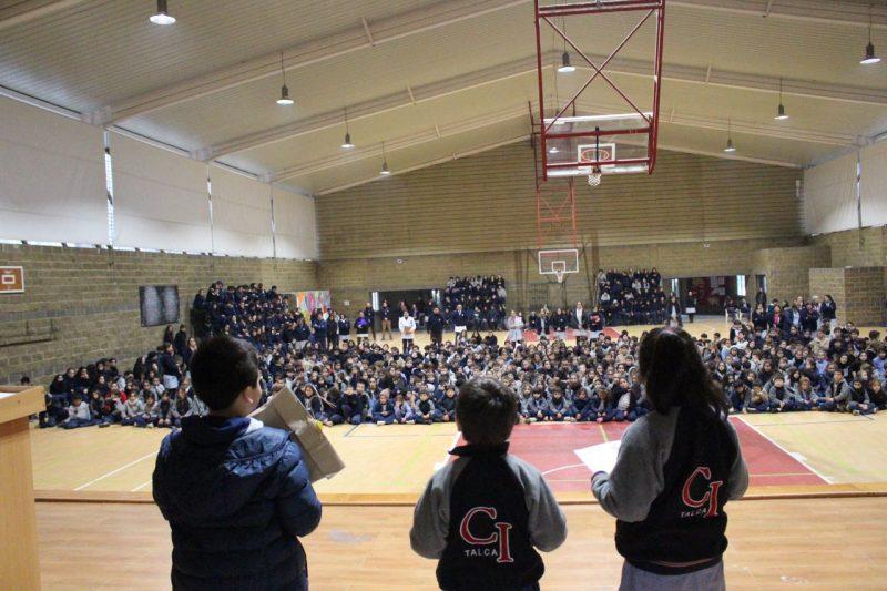 SENDA Previene Talca y el Colegio Inglés realizaron concurso de cuentos breves «Preven100»