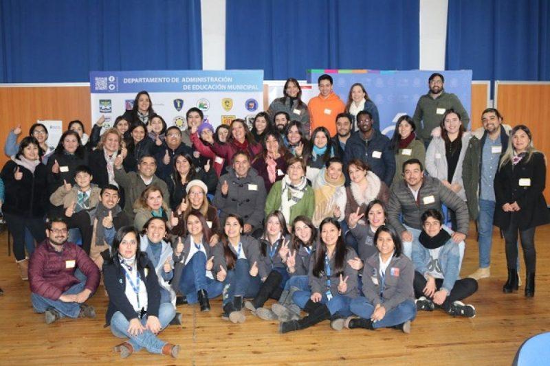 Importante adhesión en Curicó a jornada nacional de reflexión del SENDA