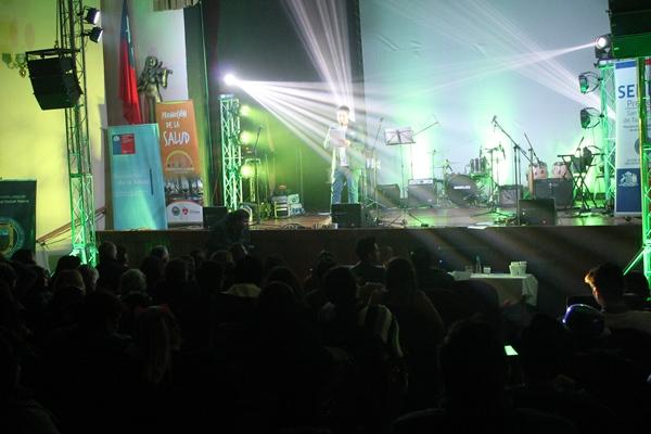 Festival de la voz, teatro y simposio dieron el vamos al Mes de la Prevención de SENDA