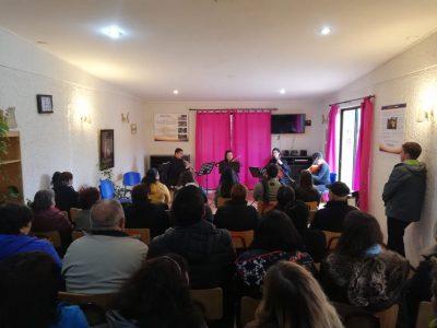 Usuarias de centro de tratamiento Dianova Romeral disfrutaron de la orquesta clásica del Teatro Regional del Maule
