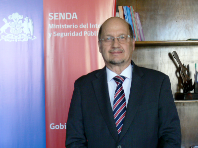 SENDA comunica sensible fallecimiento de su director nacional, Dr. Patricio Bustos Streeter