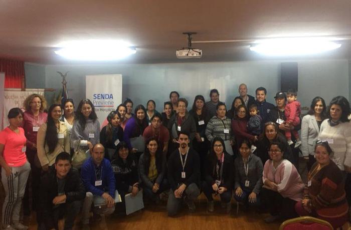 SENDA Tarapacá realiza jornada de prevención en las siete comunas de la región