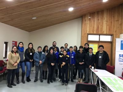 """SENDA Previene La Unión realizó jornada de """"Fortalecimiento de Líderes y Dirigentes Estudiantiles"""""""