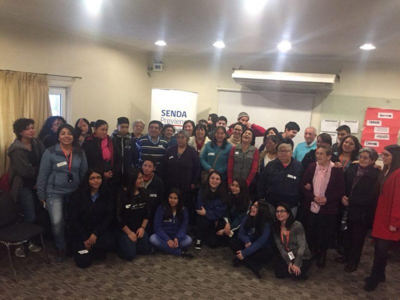 SENDA Previene Valdivia efectuó taller preventivo a estudiantes, familias y tutoras del Programa Residencia Familiar Estudiantil de JUNAEB