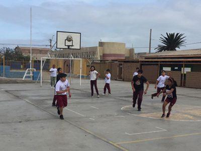 Futbolito preventivo se tomó la escuela Rómulo Peña