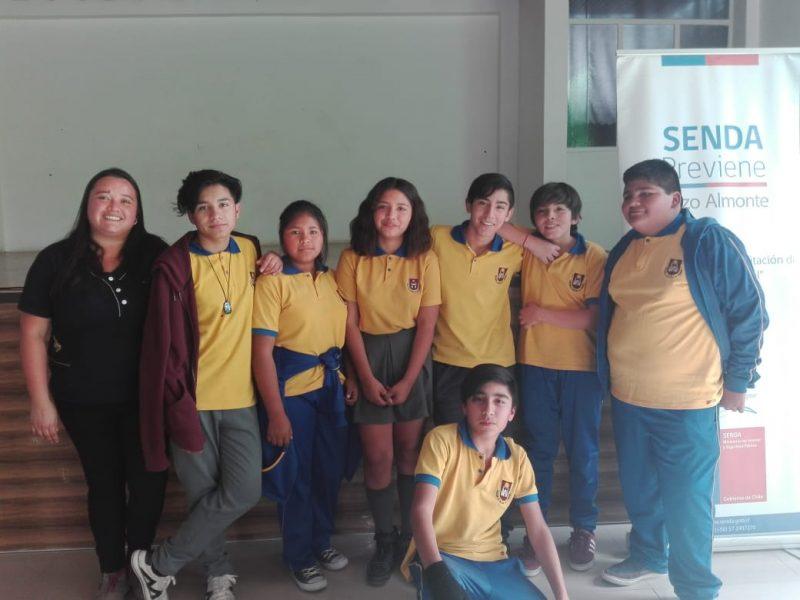 Comunas de Pozo Almonte y Alto Hospicio a la final del Debate Escolar Preventivo de Drogas