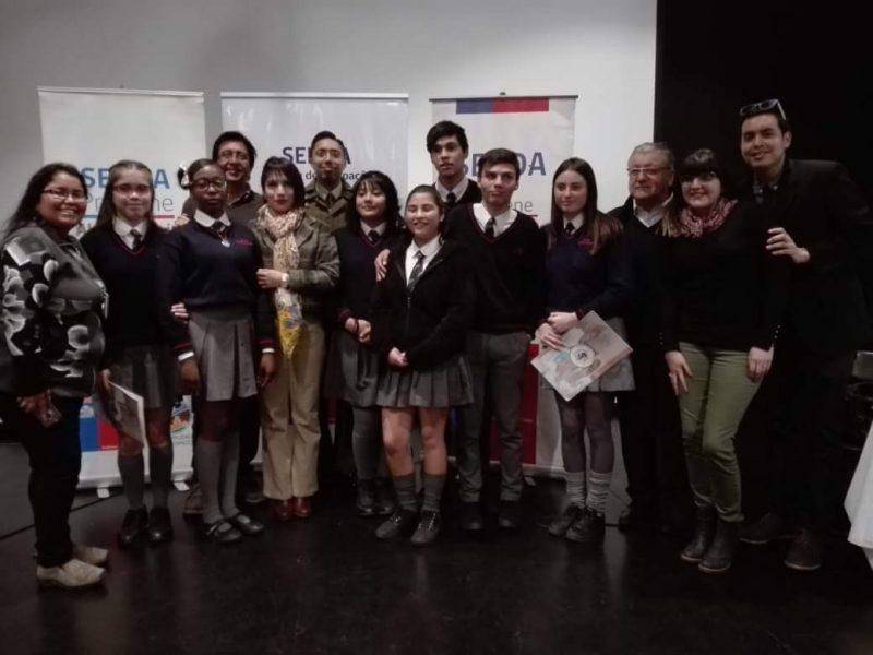 Liceo Pablo Neruda gana Debate de Prevención del consumo de drogas y alcohol de la Provincia de Iquique