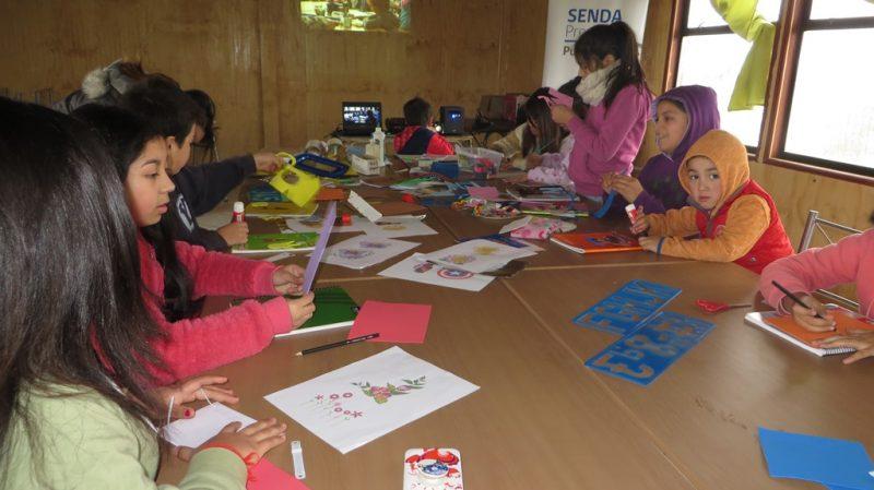 SENDA Previene Purranque promueve diversión y prevención en vacaciones de invierno