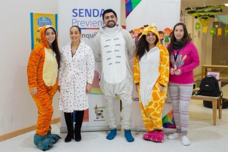 Con Pijamada Preventiva invitan a que exista más conversación y menos riesgos en Llanquihue
