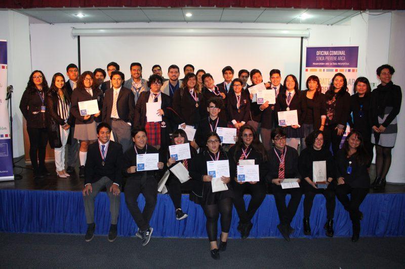 Liceo Artístico obtiene el primer lugar del 4to Torneo de Debates Estudiantiles Preventivos