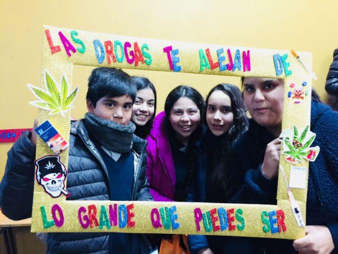 En la Escuela Santa Isabel se desarrolló la actividad en la que participó SENDA Retiro
