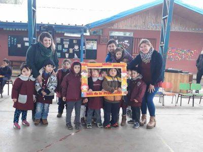 Establecimientos educacionales de Sagrada Familia celebraron día de la prevención junto a SENDA
