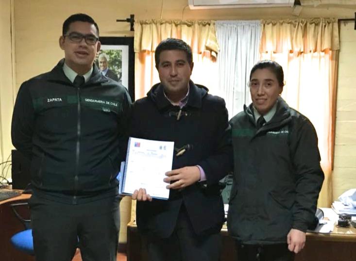 Centro de Detención Preventiva de Quirihue se capacita en Prevención