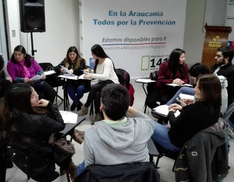 Más organizaciones se suman a red de SENDA Araucanía