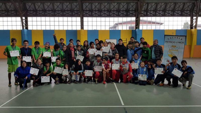 Escuela Patricio Lynch y SENDA Previene Río Bueno realizaron Campeonato de EDUGol
