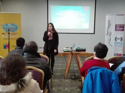 SENDA Araucanía realiza seminario de prevención laboral