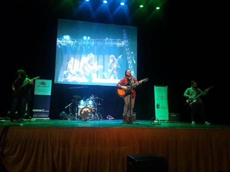 SENDA Previene San Clemente y el programa de la juventud realizaron el primer rock fest en la comuna