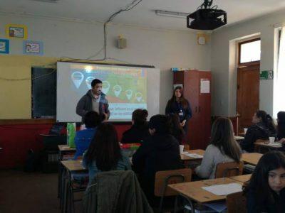 SENDA Previene San Clemente dictó taller de habilidades preventivas parentales en escuela Paso Superior Pehuenche