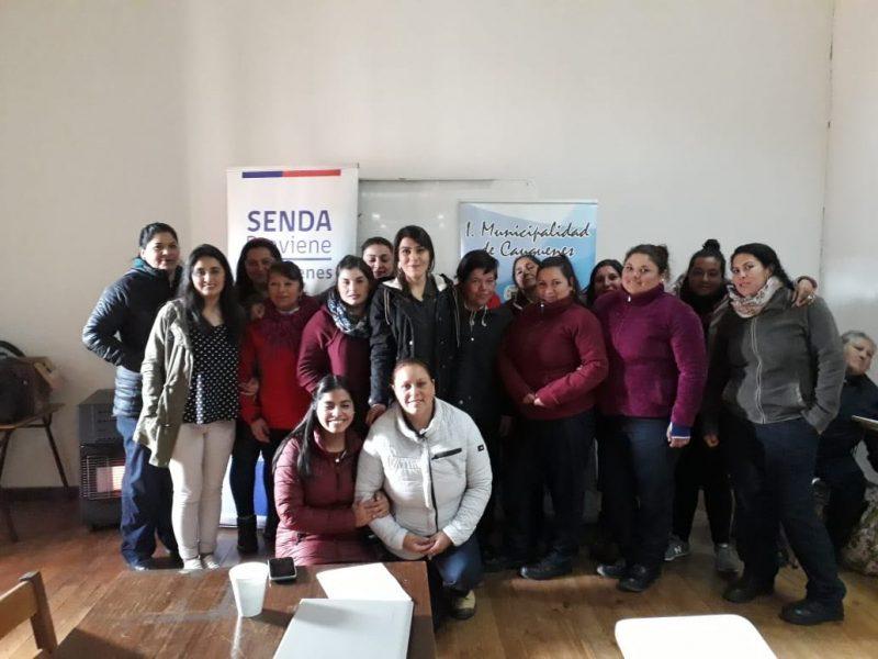 """SENDA Previene Cauquenes capacitó en """"Habilidades Parentales Preventivas"""" a trabajadores de CONAF"""