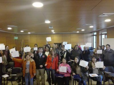 Dirigentes comunitarios se capacitaron en temáticas preventivas